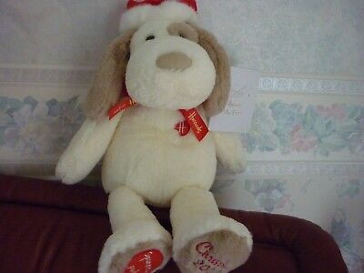Harrods 2017 My First Christmas Puppy Brand New Labelled Foot Dated
