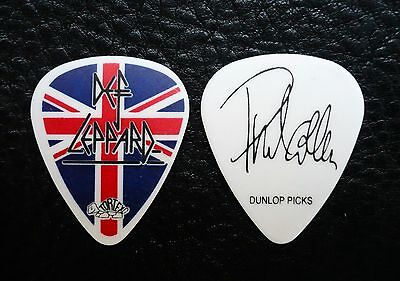 Def Leppard Guitar Pick! Phil Collen Union Jack Guitar Pick!
