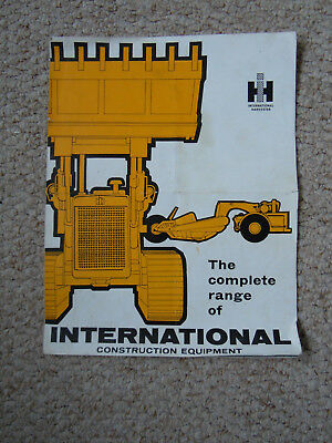 @Vintage International Range of Construction Equipment Brochure-Crawler Tractor@