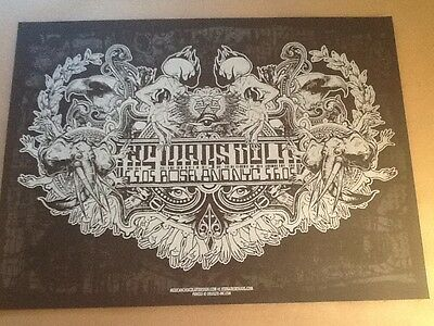 Mars Volta poster Jermaine Rogers NYC Roseland Ballroom MINT SIGNED NUMBERED