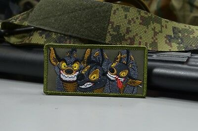 Three Hyenas,Tactical morale military patch