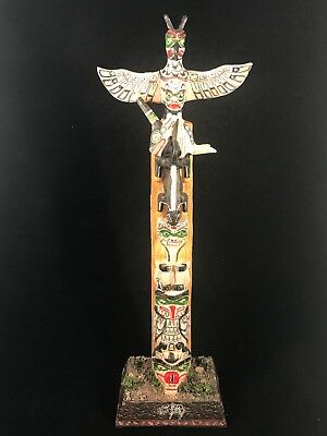 """Summit Collection Veronese Totem Pole Figurine 10.5"""" Tall Highly Detailed"""