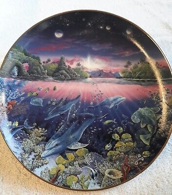 Used Search For Harmony By Robert Lyn Nelson Decorative Plate