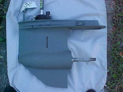 "85hp MERCURY OUTBOARD- 20"" LOWER UNIT- INLINE 4 CYLINDER"