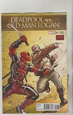 Marvel Comics Deadpool Vs Old Man Logan #1 December 2017 Ron Lim Variant Nm