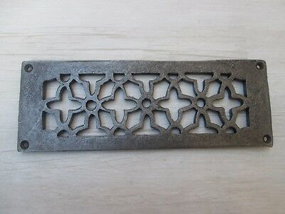 Traditional Victorian Vintage Cast Iron Repair Air Vent Air Brick Grille Cover