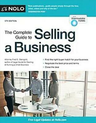 The Complete Guide To Selling A Business - Steingold, Fred S. - New Paperback Bo