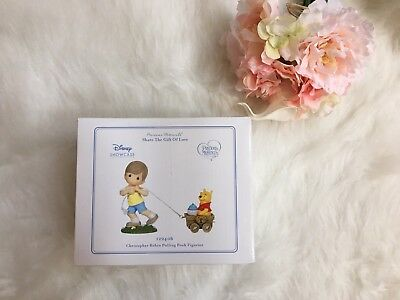 New Precious Moments 122406 Disney Winnie The Pooh Christopher Robbin Age 1