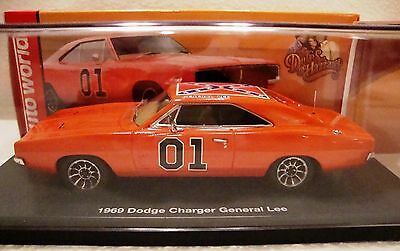 General Lee Dukes of Hazzard 1969 Dodge Charger Model No: AW1151 Made From Resin