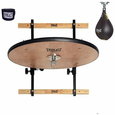 Brand New Everlast Adjustable Speed Bag Platform & Leather Speed Bag Kit