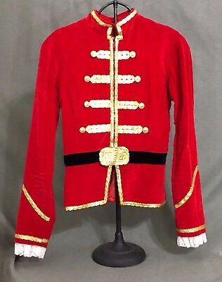 Pro Boy's Ballet Tunic Costume Nutcracker Prince Chest 32 Inches Handmade Velvet