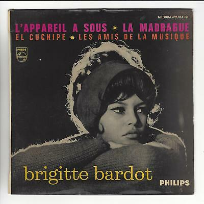 Brigitte Bardot French Issued 7'' Ep  In Vg+ / N/ex Con
