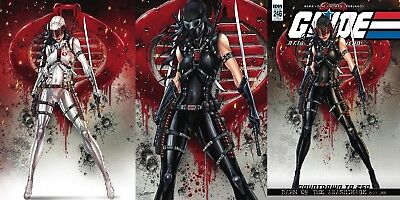 Gi Joe A Real American Hero 246 Comicxposure A B & C Variant 3 Pack Set Nm