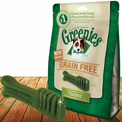 Greenies Grain Free Teenie Size 43 count 12 oz | Dental Chew Treats for Dogs