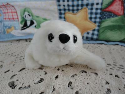 National Geographic WHITE SEAL PUP Stuffed Plush