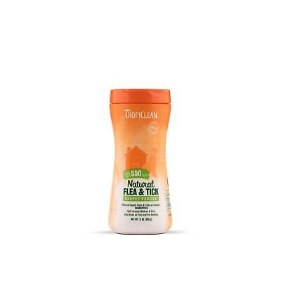 Tropiclean Flea and Tick Carpet Powder for Dogs and Cats