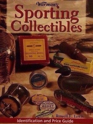 VINTAGE SPORTING COLLECTIBLES VALUE GUIDE COLLECTORS BOOK Rod Lure Decoy ++