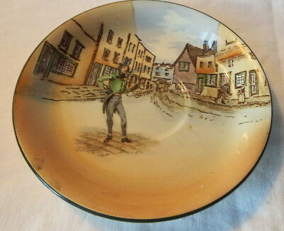 Royal Doulton Saucer Dickens ware 'Alfred Gingle' saucer