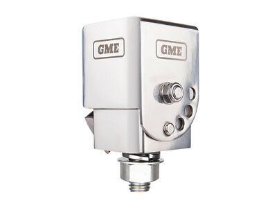 Gme Mb042 Fold-Down Foldable Silver Antenna Mounting Bracket Suit Uhf Bullbars