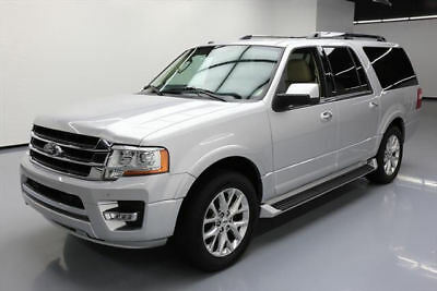 2017 Ford Expedition EL Limited Sport Utility 4-Door 2017 FORD EXPEDITION EL LTD 8-PASS LEATHER NAV 20'S 35K #A48762 Texas Direct