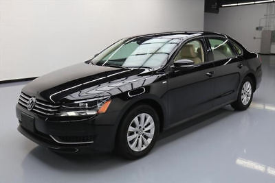 2015 Volkswagen Passat 1.8T Sport Sedan 4-Door 2015 VOLKSWAGEN PASSAT WOLFSBURG ED TURBO HTD SEATS 26K #012690 Texas Direct