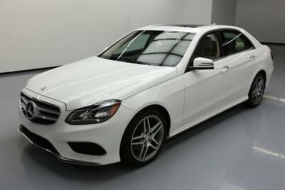 2016 Mercedes-Benz E-Class  2016 MERCEDES-BENZ E350 SPORT PREMIUM SUNROOF NAV 19K #265980 Texas Direct Auto
