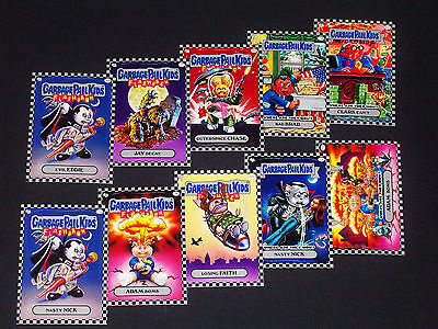 GARBAGE PAIL KIDS - 2010 Flashback Series 1 - Complete SILVER Set 160 Cards -FS1