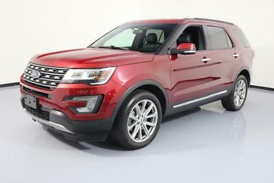 2016 Ford Explorer Limited Sport Utility 4-Door 2016 FORD EXPLORER LTD AWD 7-PASS NAV REAR CAM 20'S 32K #C09401 Texas Direct