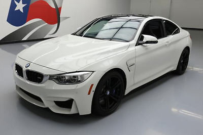 2015 BMW M4 Base Coupe 2-Door 2015 BMW M4 COUPE EXECUTIVE 6-SPEED NAV HUD 19'S 28K MI #708959 Texas Direct