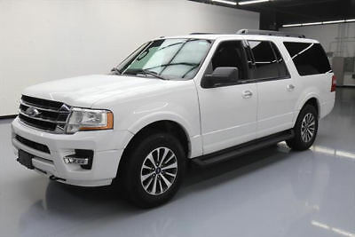 2016 Ford Expedition  2016 FORD EXPEDITION EL XLT 4X4 8-PASS REAR CAM 48K MI #F08695 Texas Direct Auto