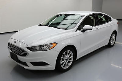 2017 Ford Fusion SE Sedan 4-Door 2017 FORD FUSION SE REAR CAM BLUETOOTH ALLOY WHEELS 33K #117999 Texas Direct