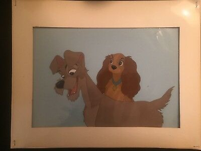 Original DL Art Corner Lady and the Tramp 1955 Walt Disney Productions Dual Cel