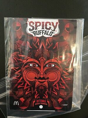 McDonald's Spicy Buffalo Sauce Sticker Poster