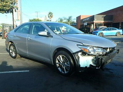 2017 Toyota Camry SE 2017 Toyota Camry SE Sedan Salvage Repairable Only 13K Mi Economical NiceProject