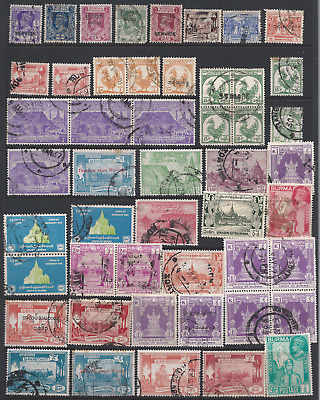 BURMA: Collection on 3 scans.
