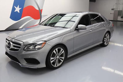 2014 Mercedes-Benz E-Class Base Sedan 4-Door 2014 MERCEDES-BENZ E350 SPORT P1 SUNROOF NAVIGATION 79K #815193 Texas Direct