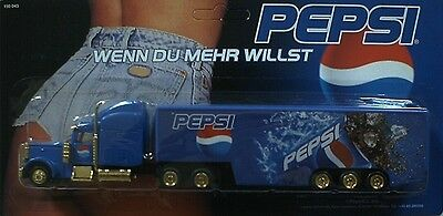 PEPSI Cola - If you want more (N° 3) / truck, US Freightliner, Scale 1:87 / HO
