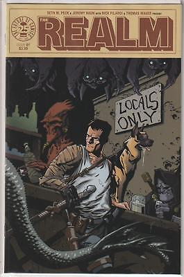 The Realm #1 - ELITE COMICS VARIANT COVER! NM!