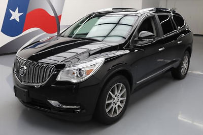 2017 Buick Enclave Leather Sport Utility 4-Door 2017 BUICK ENCLAVE HTD LEATHER REAR CAM 3RD ROW 20K MI #157915 Texas Direct Auto