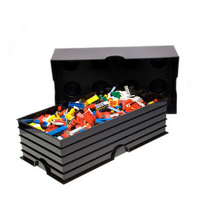 LEGO Storage Brick 8 Box (BLACK) - BRAND NEW