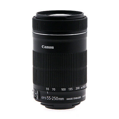 Canon EF-S 55-250mm f/4-5.6 IS STM Telephoto Zoom Lens (Used)