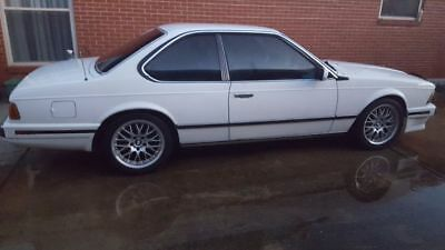 1989 BMW 6-Series L 1of last 100 ever built rare 5 spd