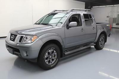 2016 Nissan Frontier  2016 NISSAN FRONTIER PRO-4X 4X4 LEATHER SUNROOF NAV 6K #701094 Texas Direct Auto