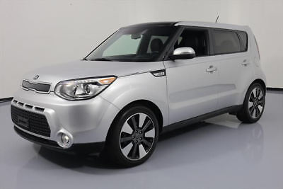 2014 Kia Soul Exclaim Hatchback 4-Door 2014 KIA SOUL ! WAGON AUTO VENT SEATS NAV REAR CAM 27K #731122 Texas Direct Auto
