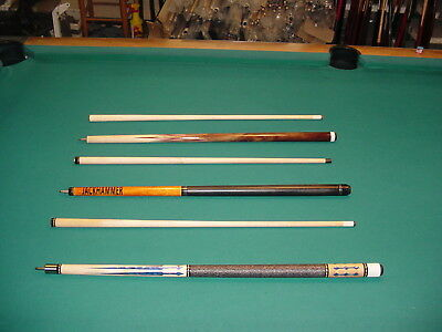 SCRATCH AND DENT SALE 3 CUES SAVE $ pool billiards wholesale CARLSCUES EBAY A048