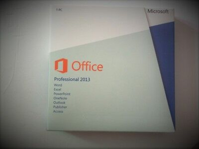 Microsoft Office 2013 Professional 32/64-bit Retail Package