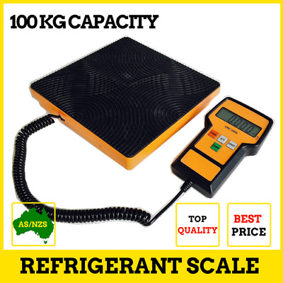 100 Kg Portable Digital Refrigerant Scale Electronic Charging Weight Scale LMC-1