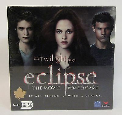 * The Twilight Saga * Eclipse Movie Board Game * NOS * Factory Sealed *