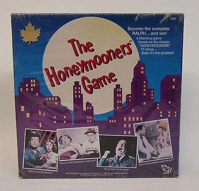 * Vintage 1986 Board Game * The Honeymooners * RARE NOS * Factory Sealed *