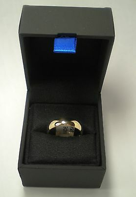 14K Solid Gold Men's Comfort-Fit Wedding Band 6mm 7.3 gm Ring Sz 9.5 New w/ Box